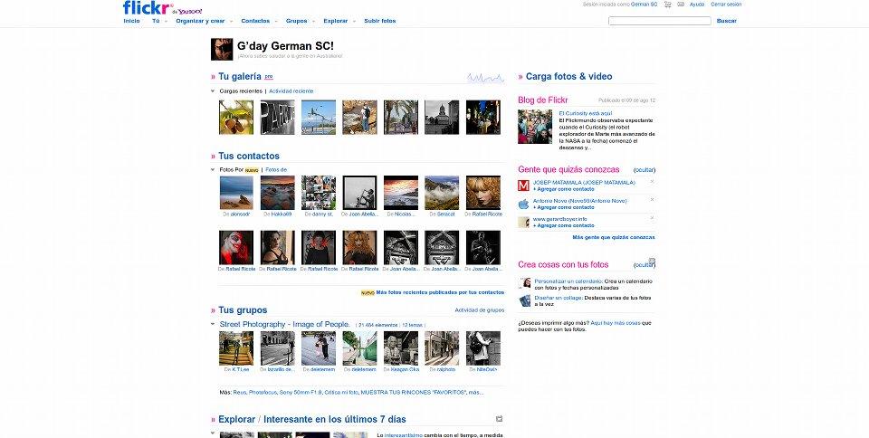 500px Vs Flickr